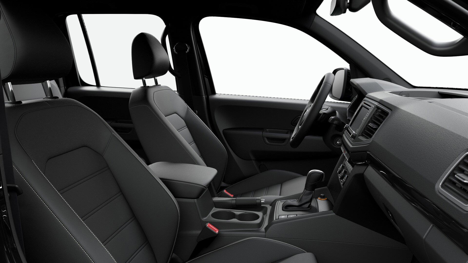 Interior Amarok V6 258 CV Black Style