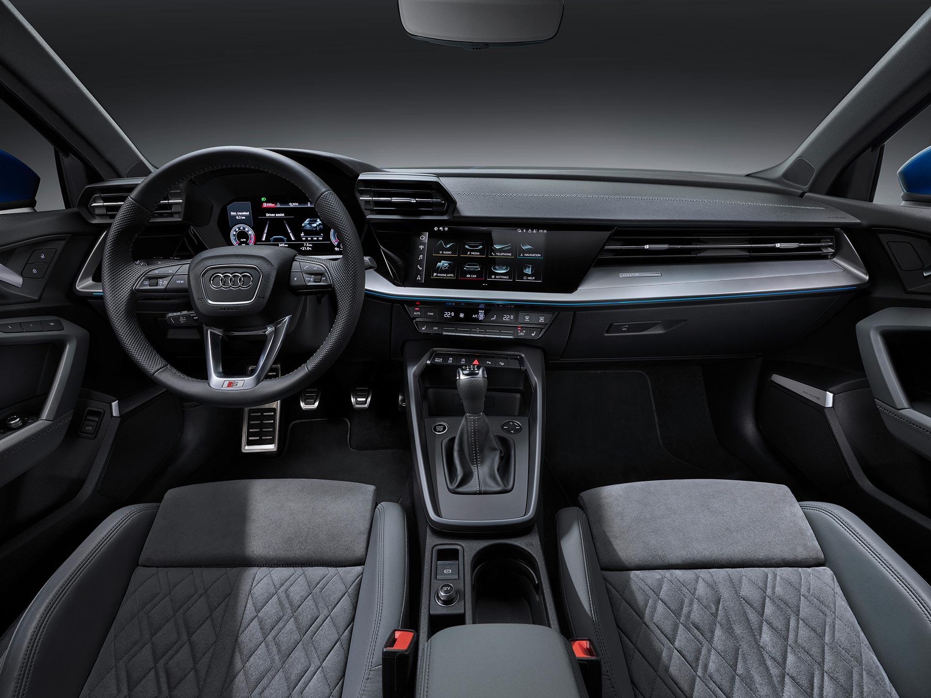 Interior Nuevo Audi A3 Sportback 2021