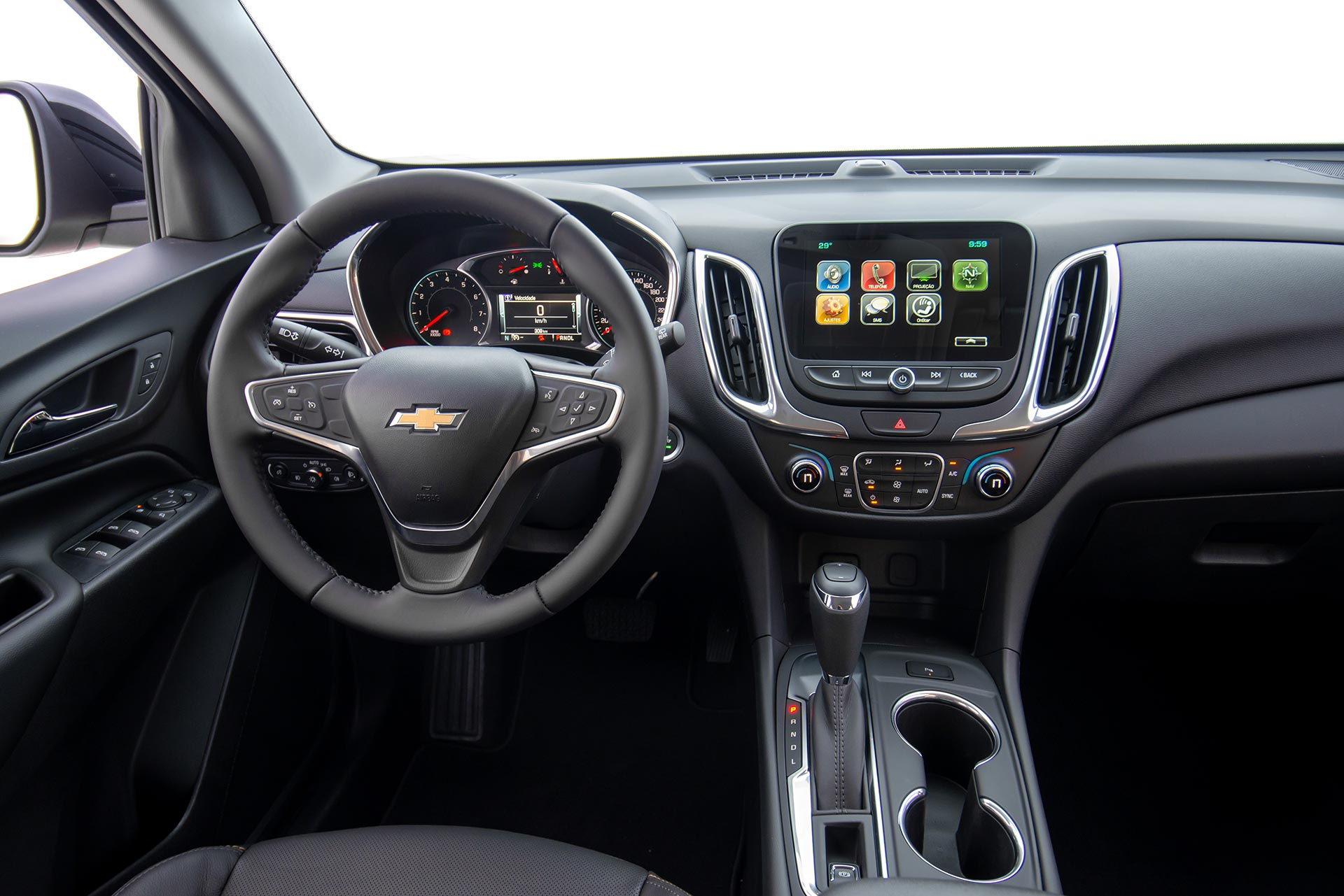 Interior Chevrolet Equinox Midnight