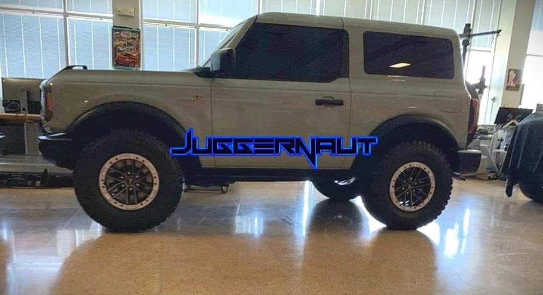 Nuevo Ford Bronco 2 puertas