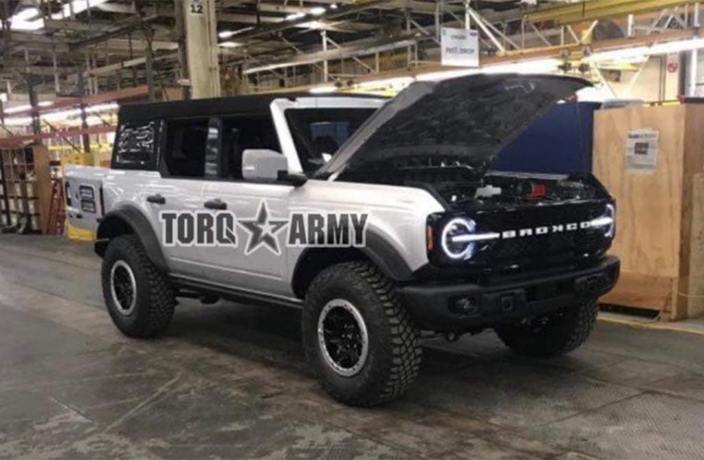 Con ustedes, el nuevo Ford Bronco