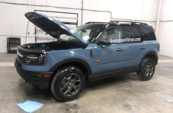 Descubrieron al Ford Bronco Sport