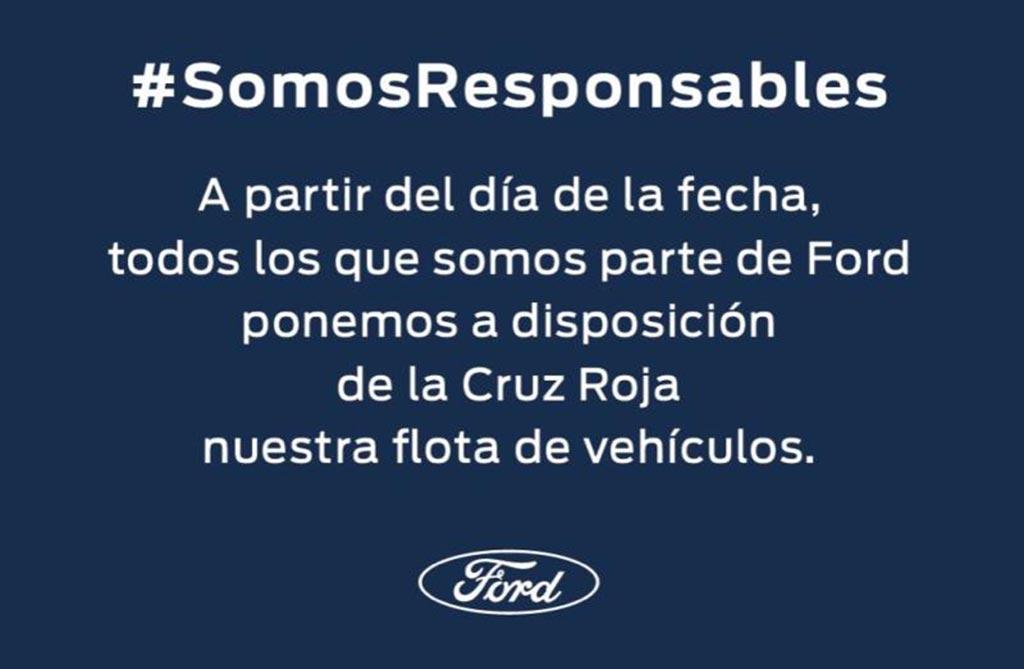 Ford Argentina ayuda Coronavirus