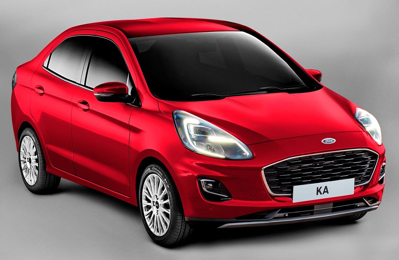 Ford Ka sedán 2022 restyling por Kleber Silva