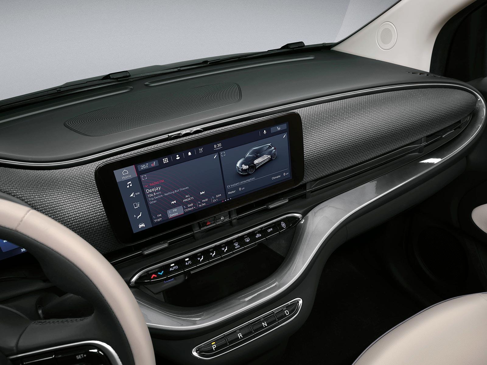 Interior Nuevo Fiat 500