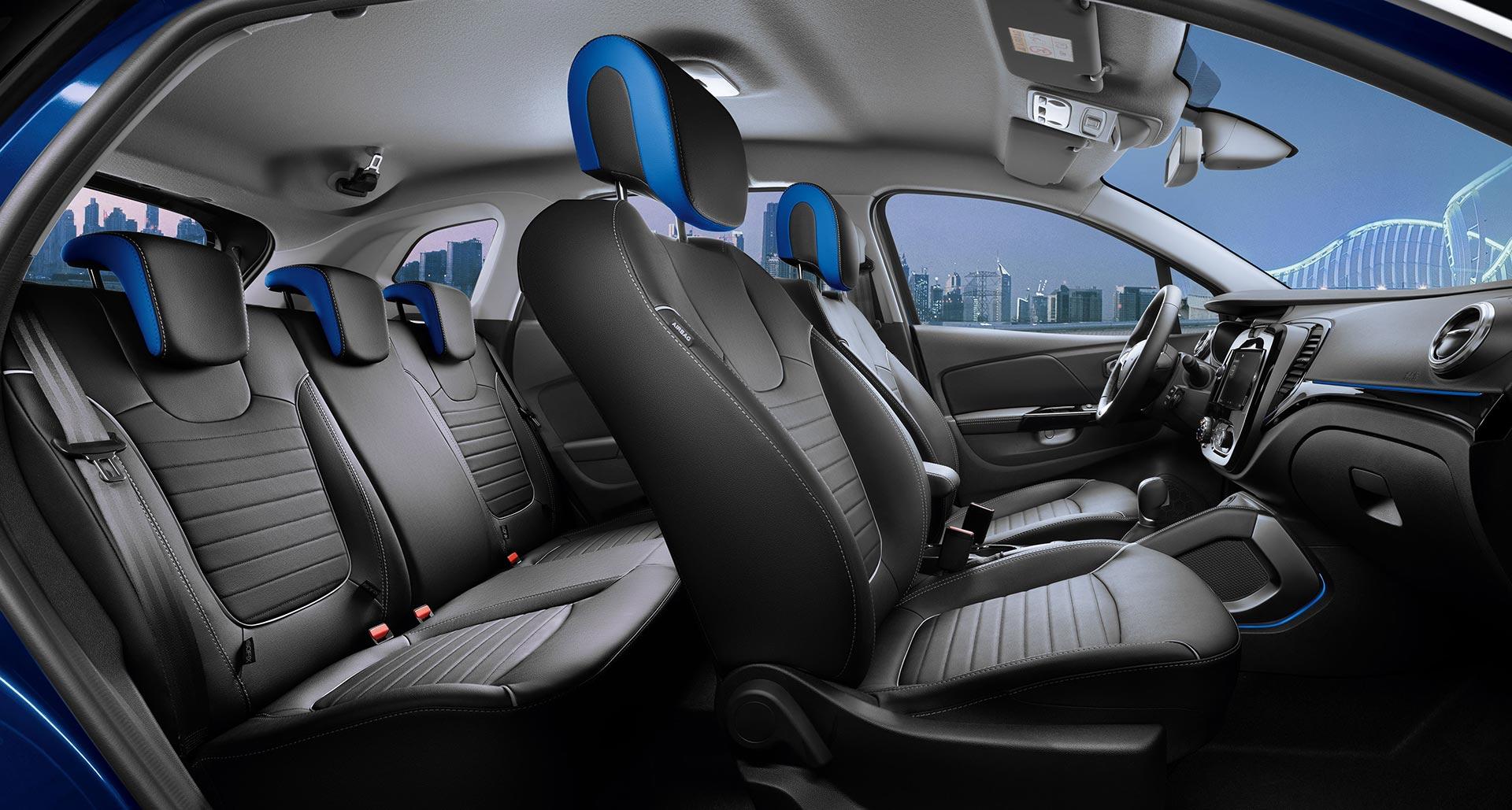 Interior nuevo Renault Kaptur