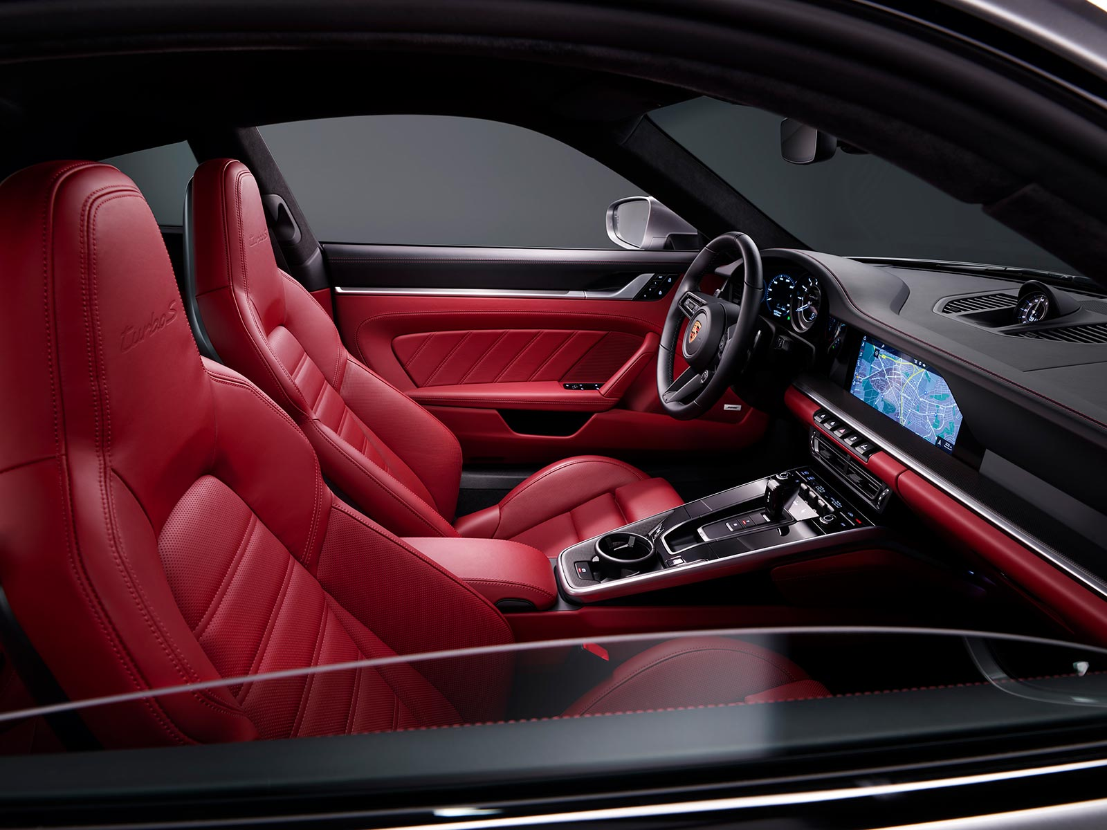 Interior Porsche 911 Turbo S (992)
