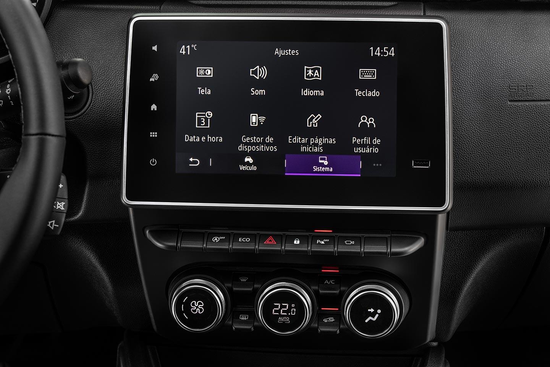 Interior Interior Nueva Renault Duster 2021 Brasil