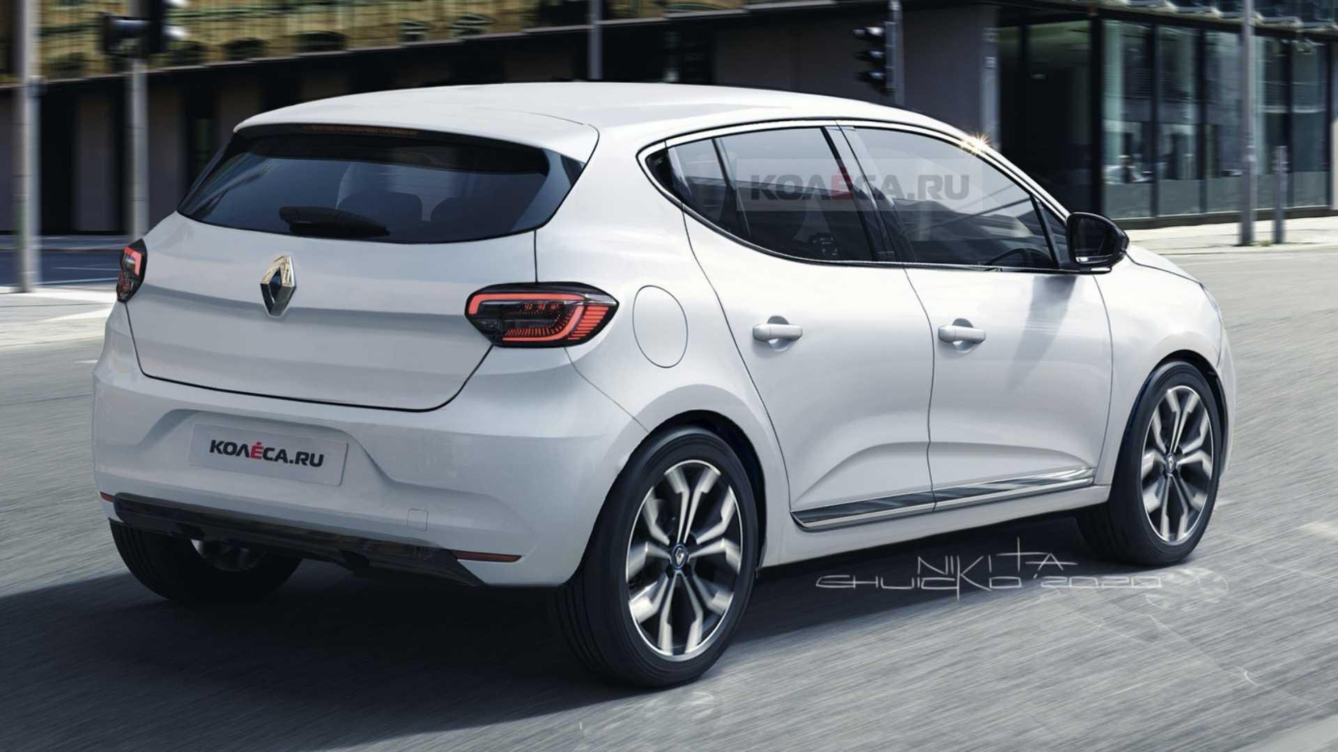Nuevo Renault Sandero 2021 proyección