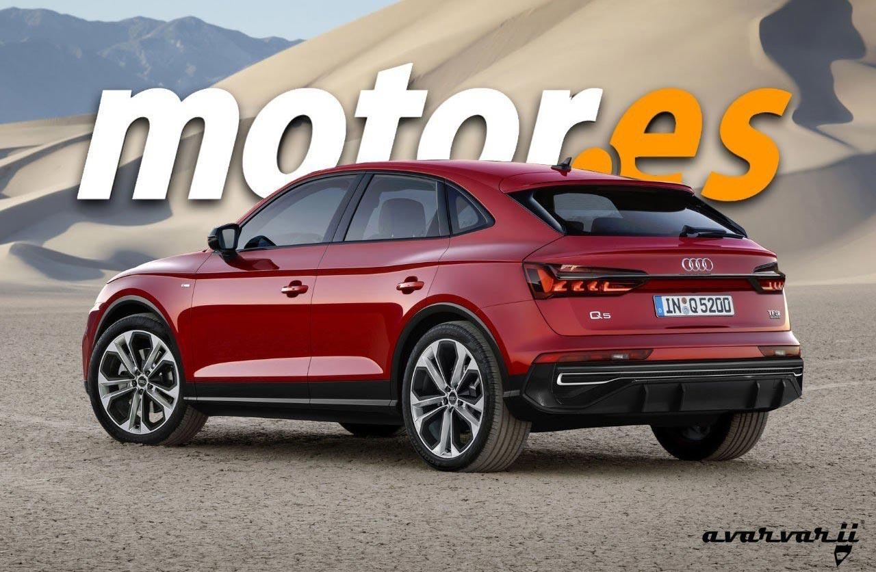 Se viene el Audi Q5 Sportback
