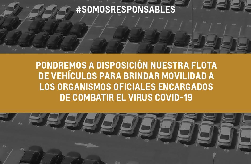 General Motors cede su flota de vehículos para contribuir en la lucha del coronavirus