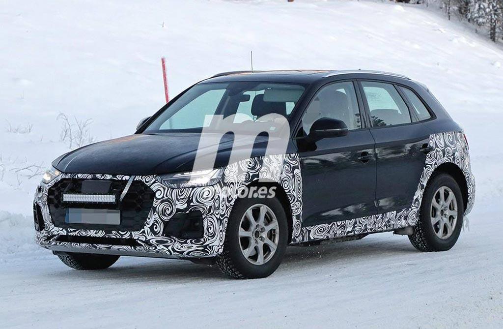 Nuevo Audi Q5 foto espía