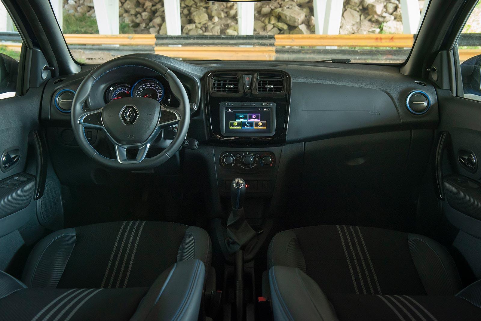 Interior Nuevo Renault Sandero GT Line
