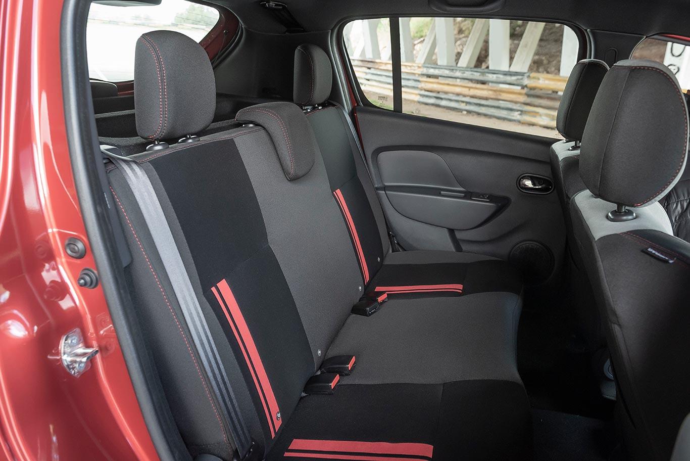 Interior Nuevo Renault Sandero RS