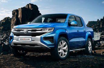 Anticipan la próxima Volkswagen Amarok de producción