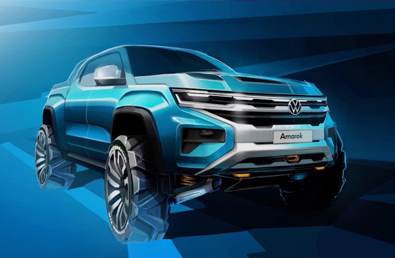 ¿Volkswagen tendrá una Amarok eléctrica?