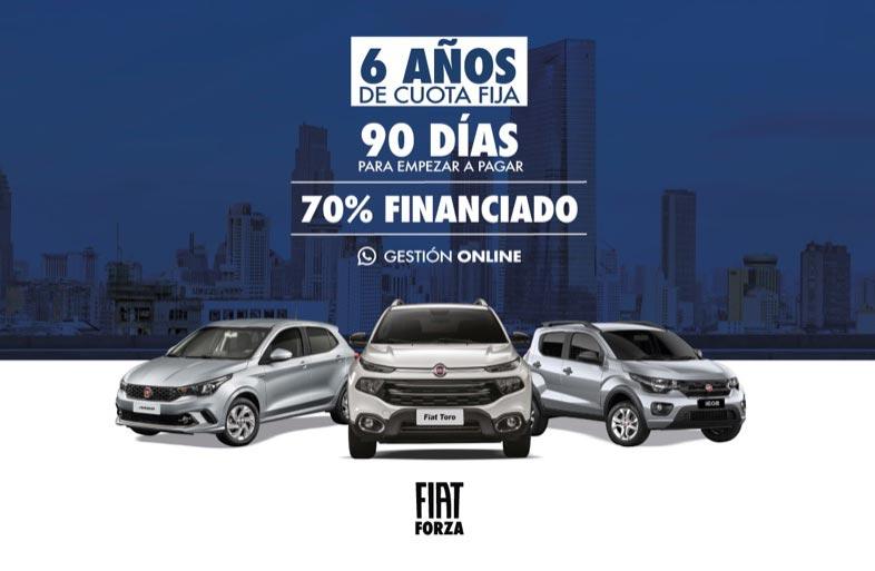 Facilidades: ahora podés comprar un Fiat o Jeep financiado y pagarlo en 6 años