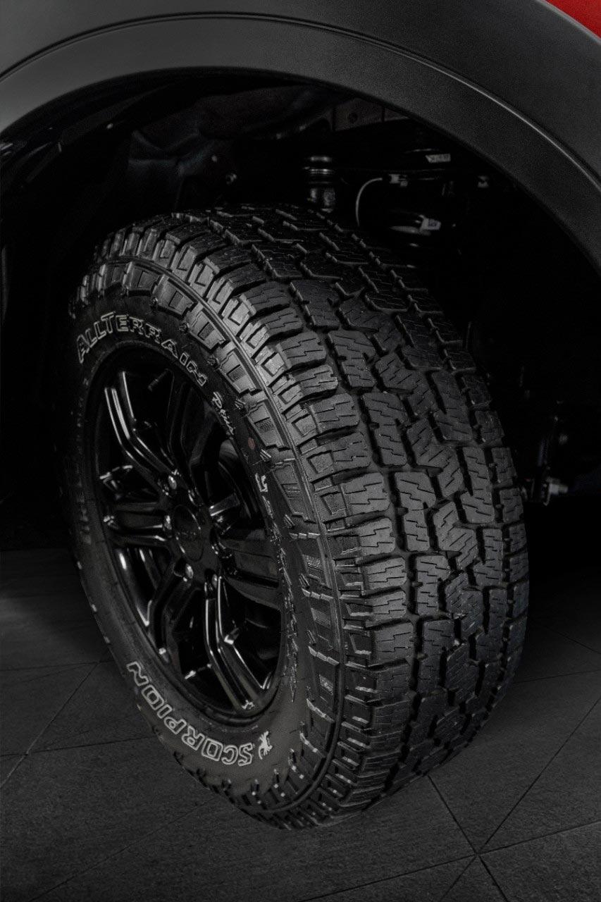 Neumáticos Ford Ranger Storm