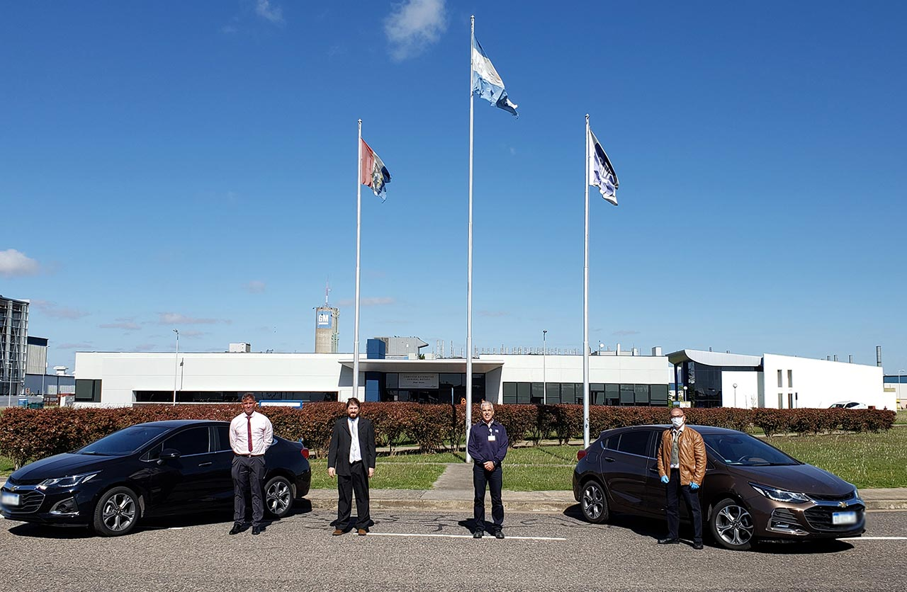 General Motors entrega autos