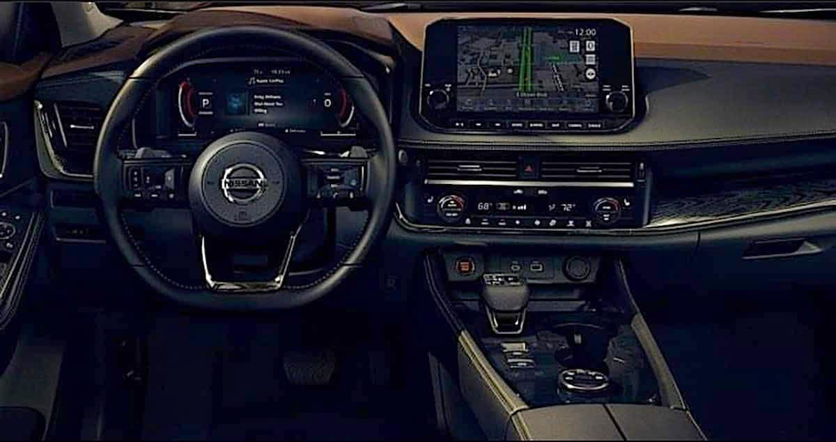 Interior nueva Nissan X-Trail 2021