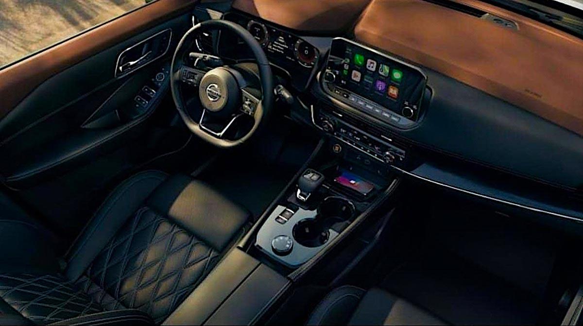 Interior Nissan X-Trail 2021