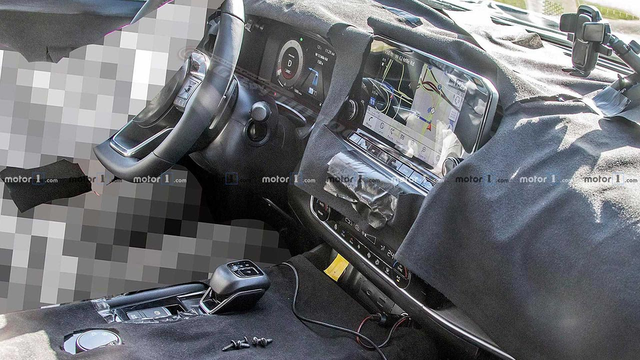 Interior Nissan X-Trail 2021