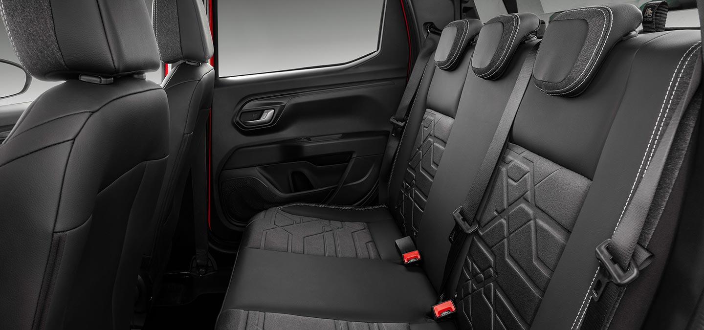 Interior Nueva Fiat Strada