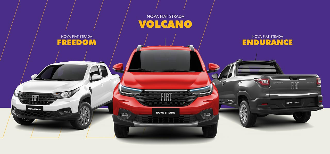 Versiones Nueva Fiat Strada