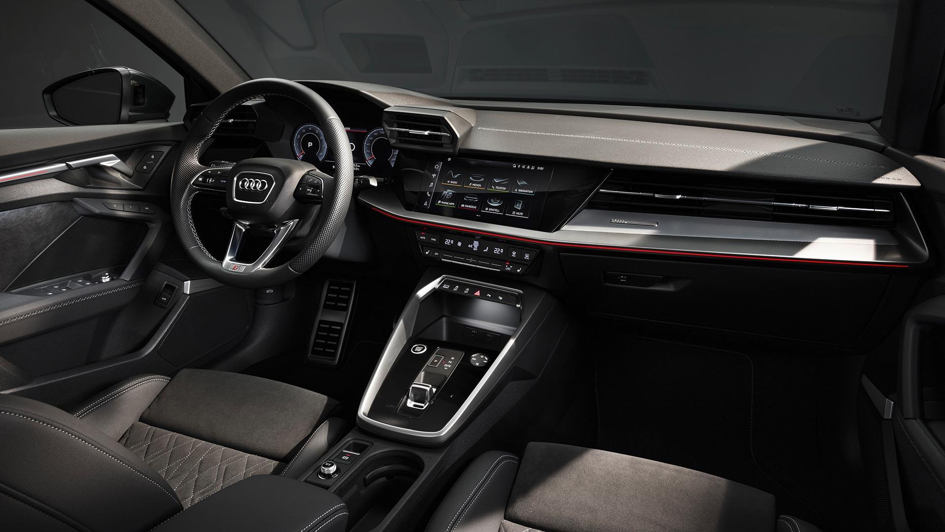 Interior Nuevo Audi A3 Sedán