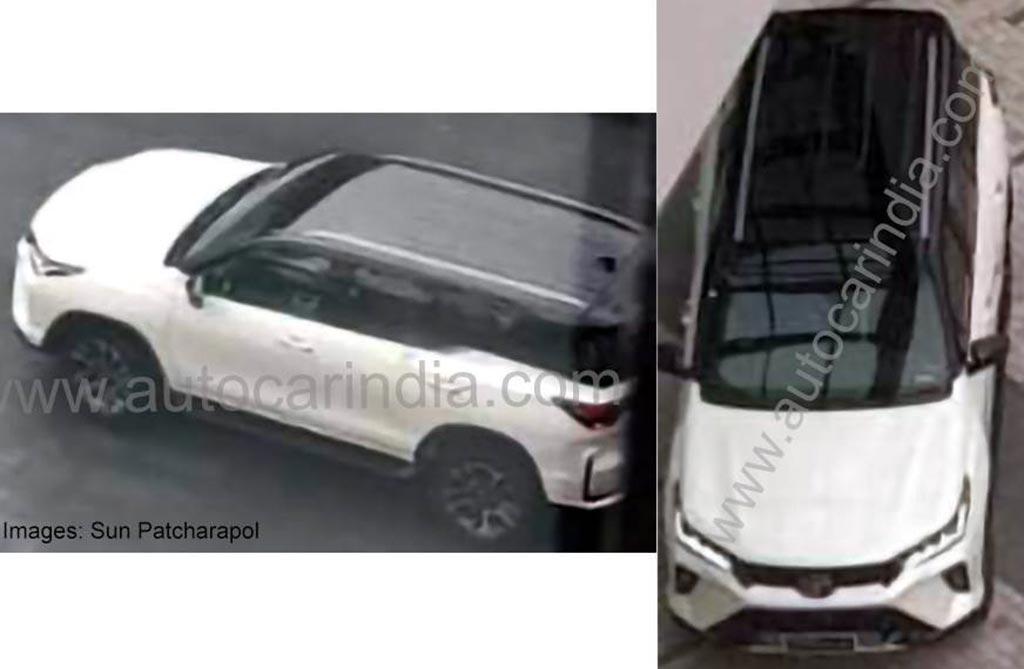 Así es el nuevo diseño de la Toyota SW4