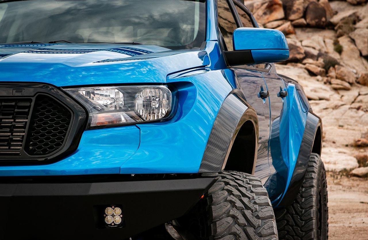 Una Ford Ranger naftera con carácter de Raptor