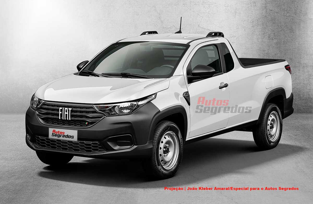 Cómo es la nueva Fiat Strada más accesible