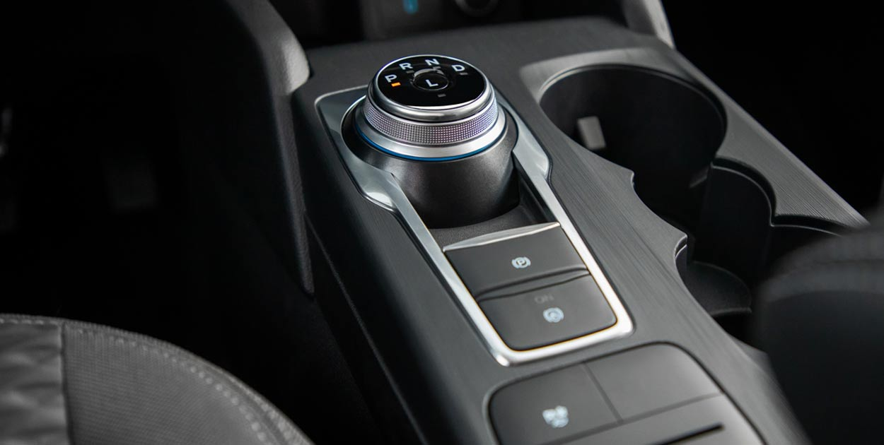 Interior Ford Kuga híbrida