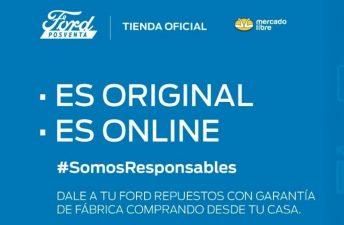 Ford lanzó una plataforma para comprar accesorios y repuestos online