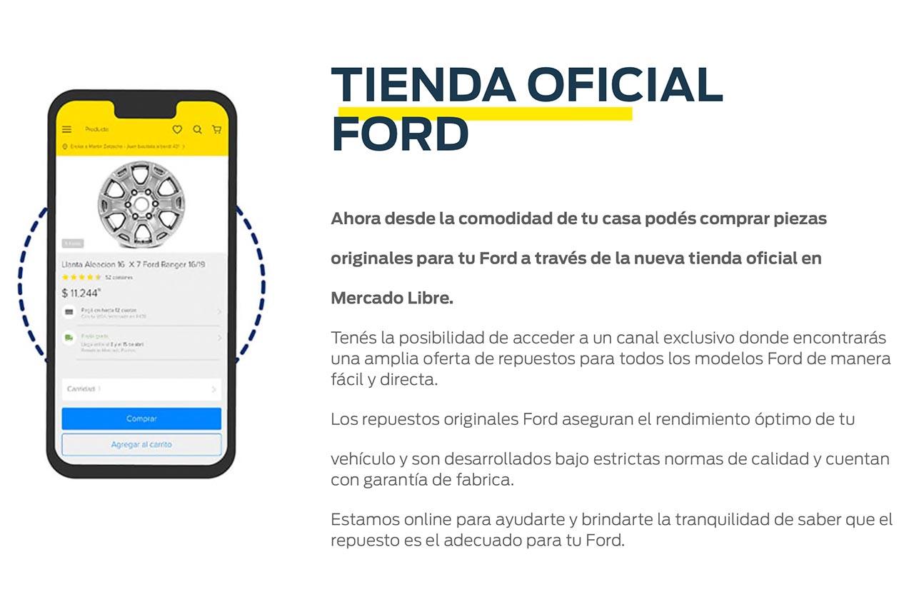 Tienda oficial Ford en Mercado Libre