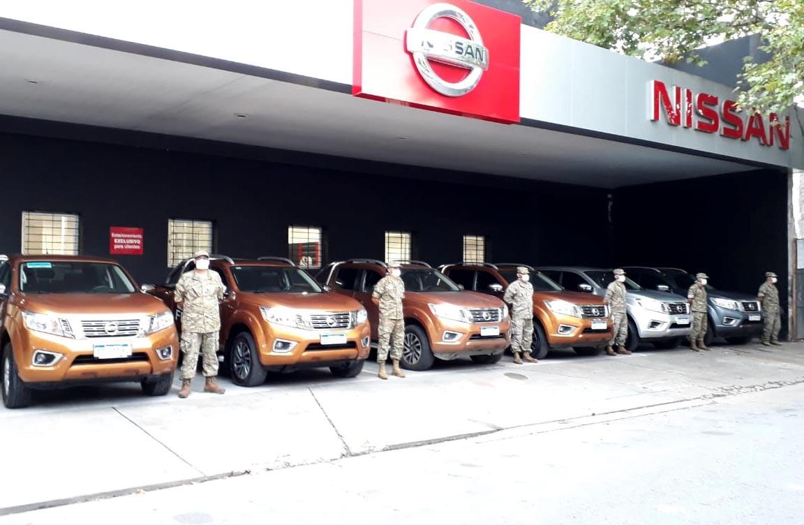 Nissan Argentina pone a disposición sus vehículos para apoyar a los que ayudan
