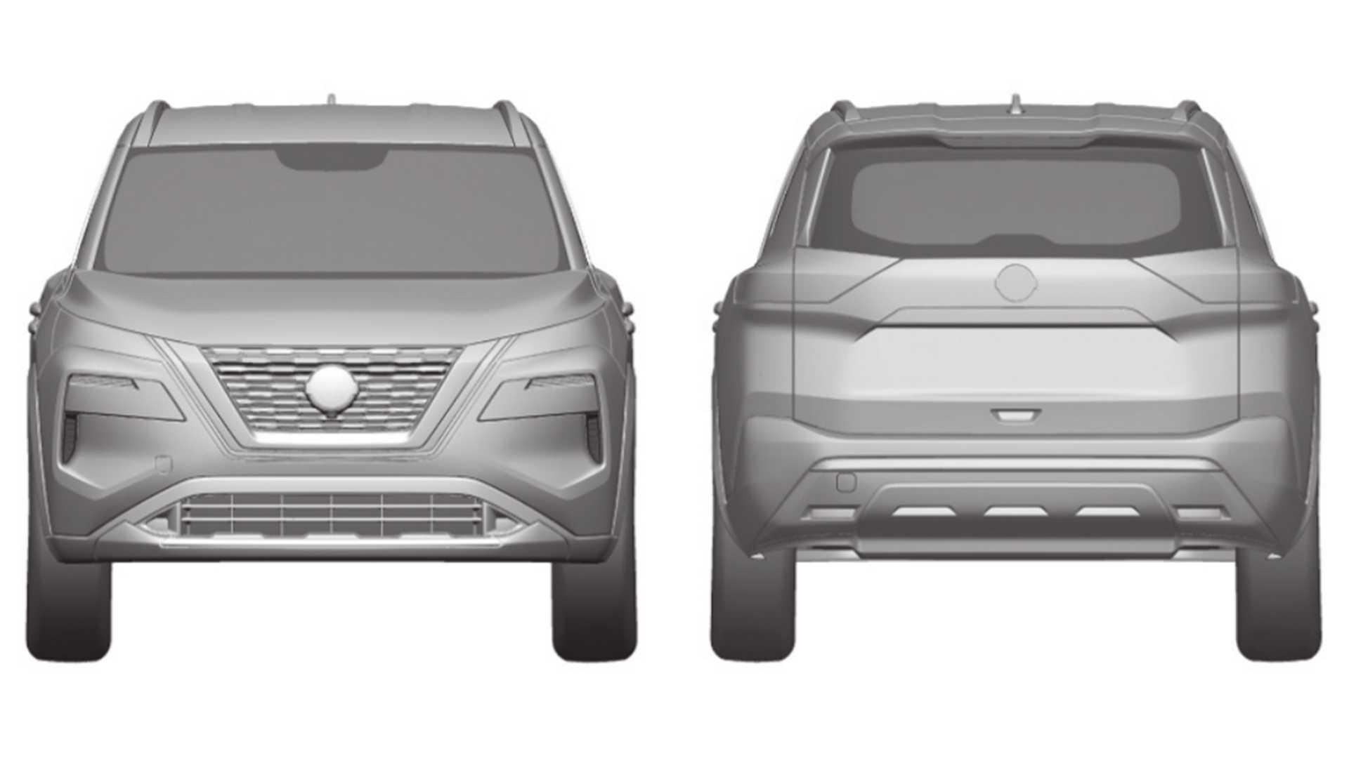 Nissan X-Trail 2021 registro INPI Brasil
