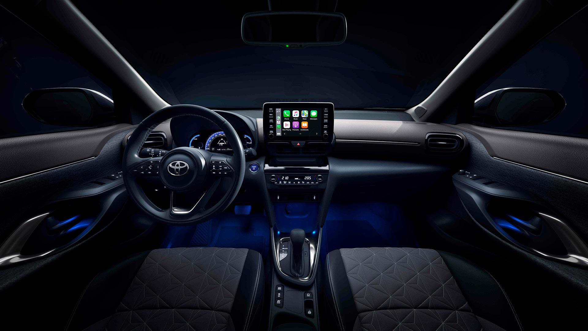 Interior Toyota Yaris Cross