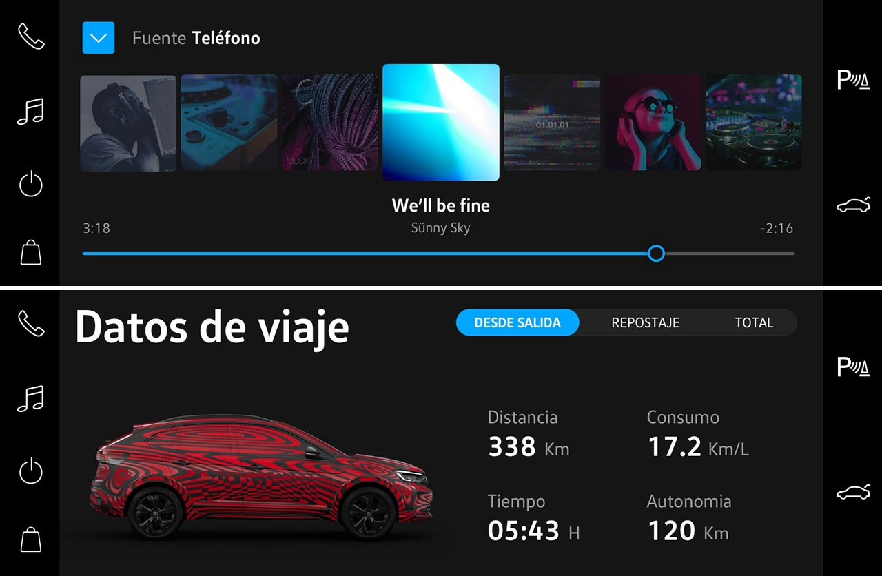 Así es VW Play, el novedoso sistema multimedia que debutará en el Nivus