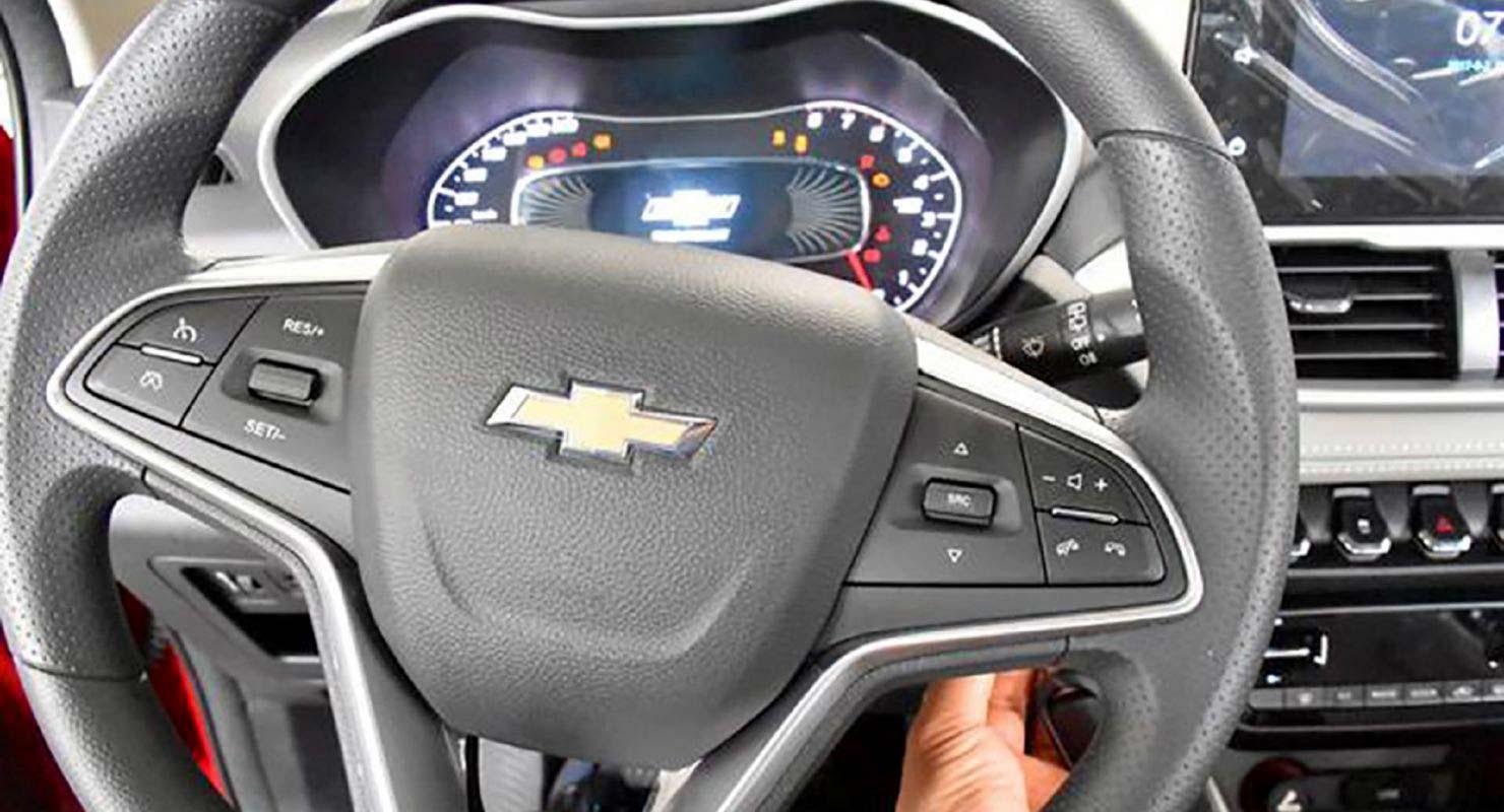 Interior Nuevo Chevrolet Groove SUV