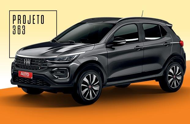 El nuevo SUV chico de Fiat, para 2021
