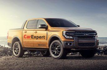 La Ford Ranger tendrá un motor turbodiésel V6 con más de 250 caballos