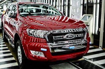 Ford reanudó la producción en Pacheco