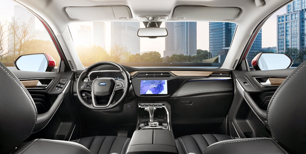Interior Ford Territory S (restyling)