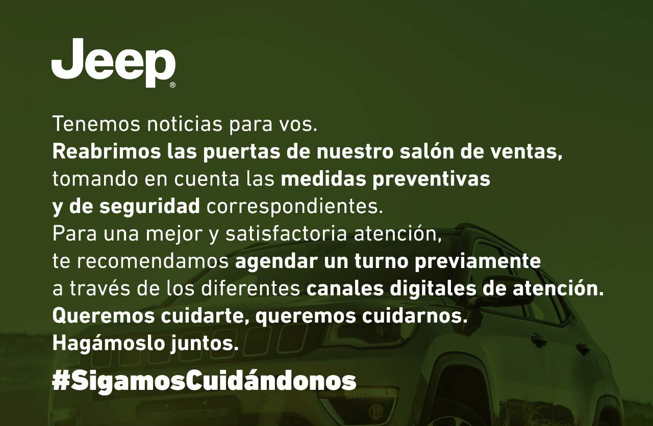 Reapertura concesionarios Jeep