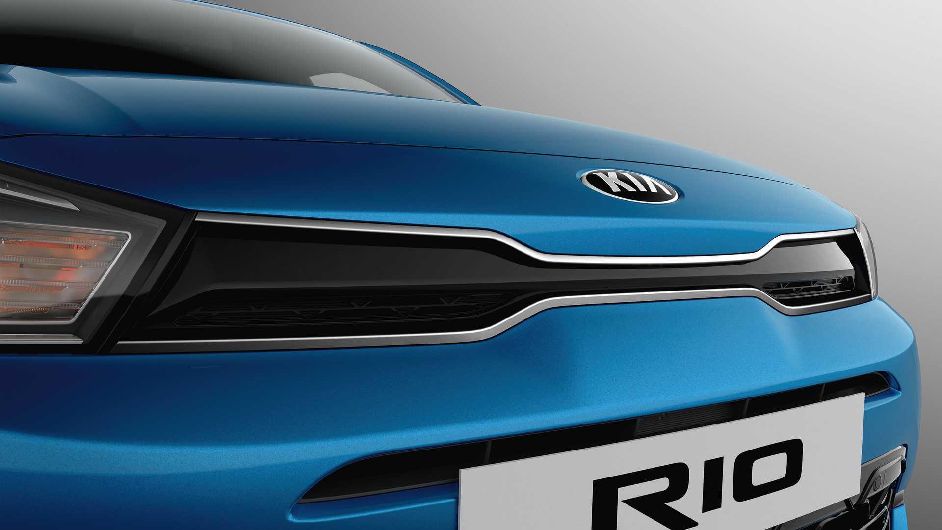 Kia Rio 2021 restyling
