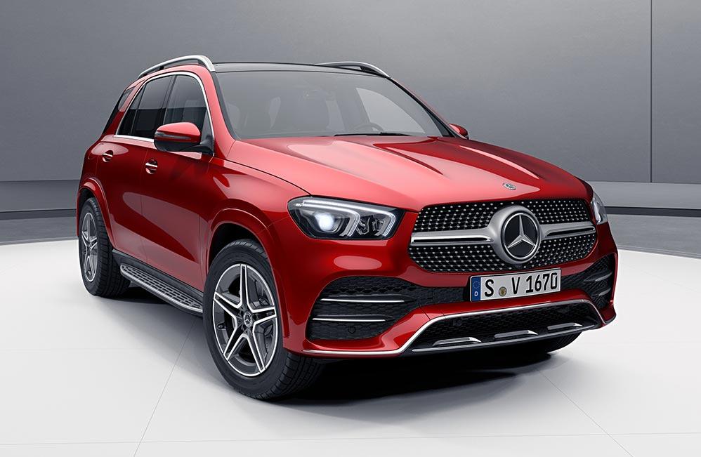 Mercedes-Benz lanzó el nuevo GLE en Argentina