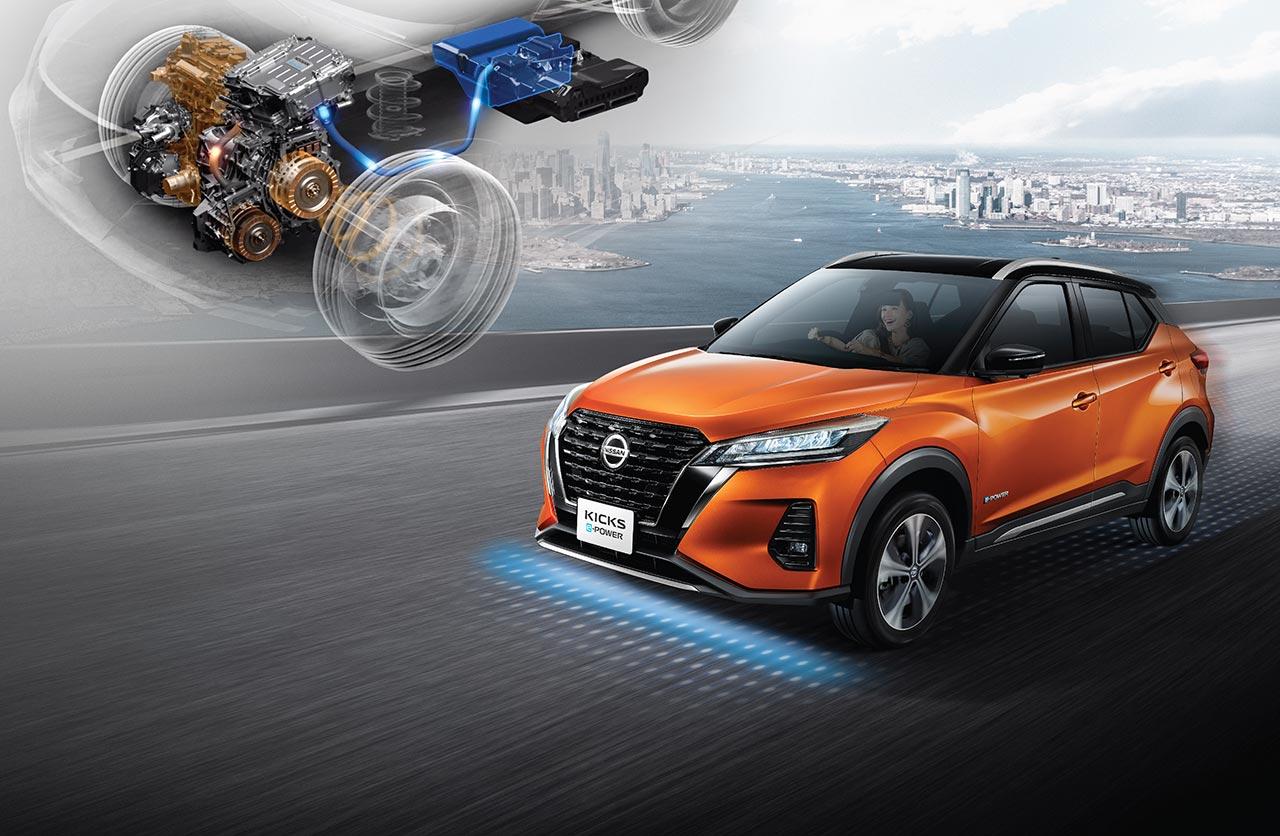 Nuevo Nissan Kicks 2021 e-Power