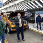 Volkswagen vuelve a producir en Pacheco