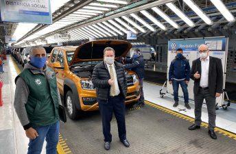 Mejora el nivel de producción de autos
